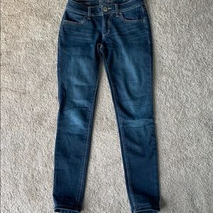 DL1961 skinny jeans.  25